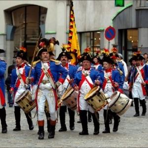 """1er Regiment des Etats Belgique-Unis"" (c) ""Folknam"""