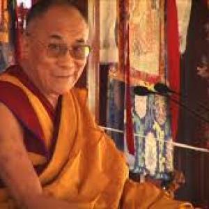 Tenzin Gyatso, le 14e Dalai Lama.(c) Guy Courteix