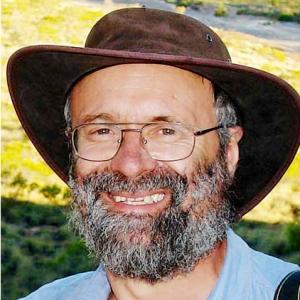 """Jean Charbonneau, le realisateur d' """"Australie, sur les Pistes du Reve"""""""
