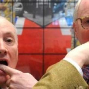 """Les invites d'honneur britanniques (c) """"Gilbert & George""""/""""BRAFA Art Fair"""" 2019"""