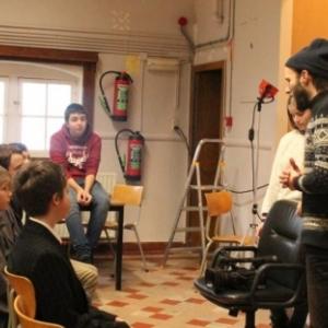 """Tournage de """"La Brigade Bovesse"""", avec Benjamin Hennot, le realisateur (c) """"L Avenir"""""""