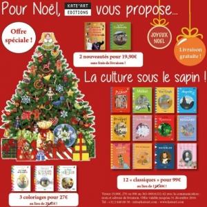 """Pour Noël, Livres pour les Enfants (""""Ed. Kate'Art"""")"""