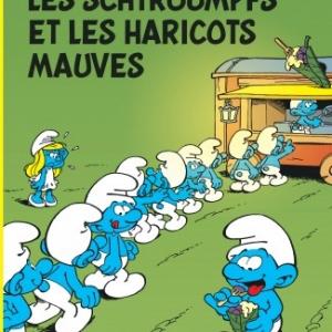 """« Les Schtroumpfs et les Haricots mauves » (Ed. """"Le Lombard"""")"""