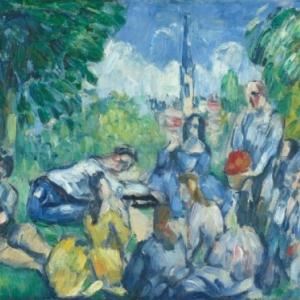 """""""Le dejeuner sur l'Herbe (Paul Cezanne)"""