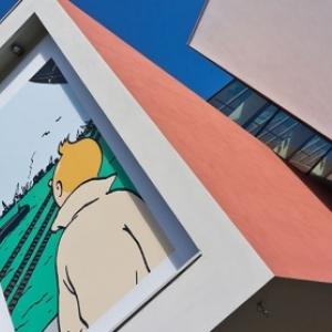 """""""Musee Herge"""", a Louvain-la-Neuve (C) Christian de Portzamparc/Photo : Jean-Pierre Remy"""