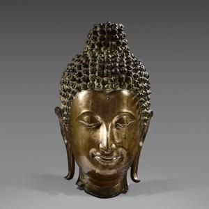 """Tete de Bouddha (c) """"Christophe Hioko Gallery"""""""