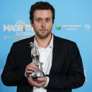 """Joachim Lafosse et l un de ses """"Magritte du Cinema"""", pour """"A perdre la Raison"""""""