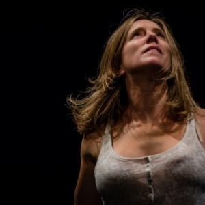 """Andrea Bescond, dans son interpretation theatrale des """"Chatouilles"""", """"Prix Moliere du seul en scene"""""""