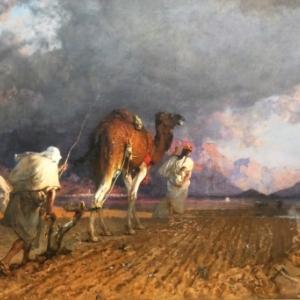"""""""Le Labour"""" (n.d./116 x 165 cm/""""Musee des Beaux-Arts""""/Limoges)"""