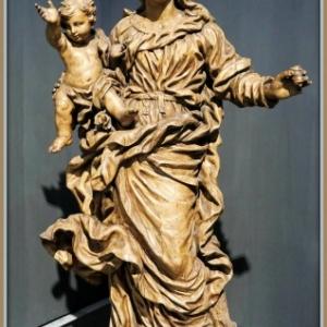 """""""Vierge a l Enfant"""" (1693) (c) Jean Delcour (c) Ville de Liege"""