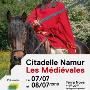 """11ièmes """"Médiévales"""" de la Citadelle de Namur, les 7 et 8 Juillet"""