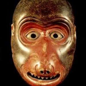 Un masque de singe
