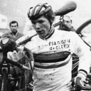 "Eric de Vlaeminck, 7 fois Champion du Monde de Cyclo-Cross (c) M. Weynants/""Belga"""