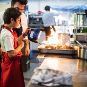 """Les joies d un atelier de cuisine pour ados (c) """"Epicuriales"""""""