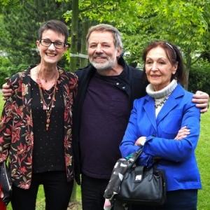 "Anne Eyberge, Tom Frantzen et Fanny Rodwell (c) ""Moulinsart 2019"""