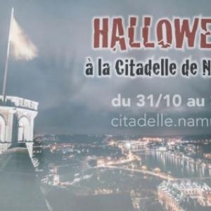 """""""Halloween"""", à la Citadelle de Namur, du 31 Octobre au 03 Novembre"""