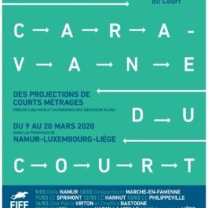 """Dans onze Villes wallonnes, la """"Caravane du Court"""""""