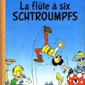 """La ou sont nes """"Les Schtroumpfs"""", dans le 9eme """"Johan et Pirlouit"""""""