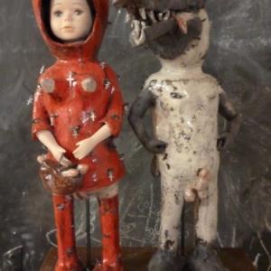 """Chaperon Rouge et le loup, l un des themes favoris de (c) Pierre Sgamma/Photo : """"Skit"""""""