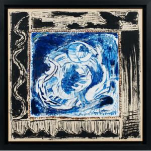 """Une oeuvre de l un des fondateurs du """"Groupe Cobra"""" (c) Pierre Alenchinsky/""""Belgian Gallery"""""""