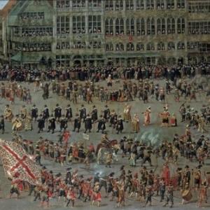 Peinture de Denis van Alsloot/1615