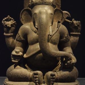 """Ganesh (c) """"Musee National d Indonesie"""""""