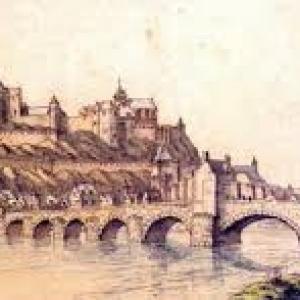 """Autrefois, le """"Vieux Pont de Jambes"""""""