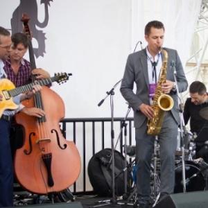 """""""Village Wallon des Saveurs"""" : Venu du Luxembourg, l Americain, de New Orleans, Greg Lamy, au sein de son Quartet"""