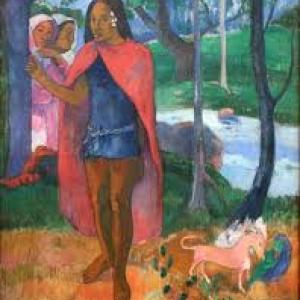 """""""Le Sorcier d Hiva Oa"""" (1902) (c) Paul Gauguin (c) Ville de Liege"""