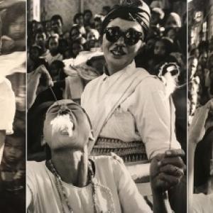 "1969/Jogjakarta/Danse du Cheval (c) Burt Glinn/""Magnum"""