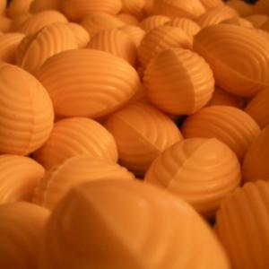Oeufs de Paques en chocolat blanc