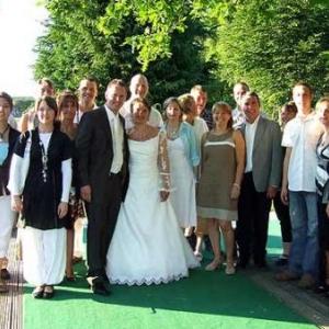 mariage  Anne-Francoise et de Leonard Michael Jacqmin