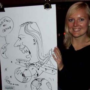 Caricature au Frenchie Restaurant de Luxembourg-7035