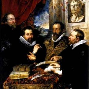 12_Les_quatre_philosophes-Rubens(c)Plantin_Moretus_Museum