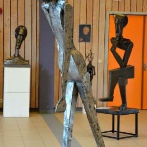 """""""Homme en Marche"""" par Jean-Marie Collet-3611"""