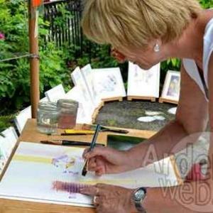 Achouffe village des artistes