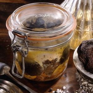 Foie gras de canard entier à la truffe noire 14%