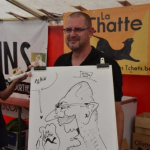 Hotton, 17e Rencontre des brasseries en caricature