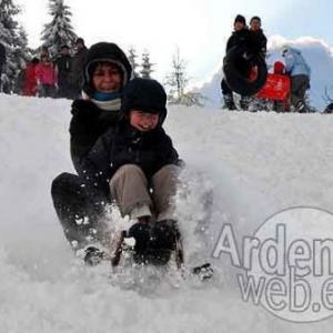 Ski en langlauf in de Ardennen-107