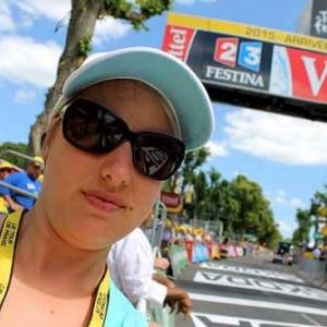 Tour de France 2015 Dislaire Christel