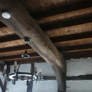 Les magnifiques boiseries interieures de la Hore Kinon