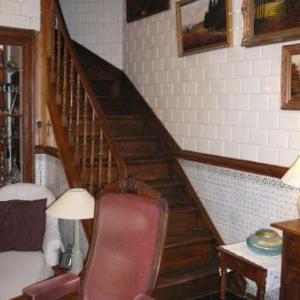 L'escalier en place dans les cuisines