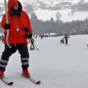 Ski action en ardenne