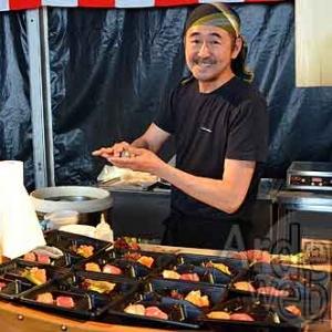 le Chef Nakahara (le Shinano, de Paris) -Epicuriales 2015-photo-5145