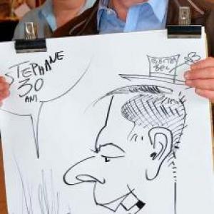 Caricature pour Electrabel-3347
