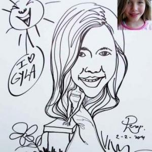 Gyla et Barbie- MHZ caricature