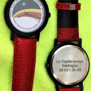 La montre des astronautes belge sur Mars