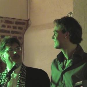 video ventriloque Jacques Albert et les patrons de Corda