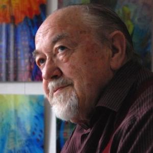 le peintre Marcel Lucas