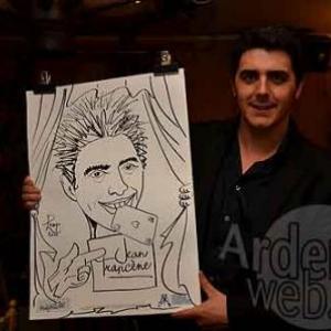 Caricature de Ben par Jean-Marie Lesage - photo 3722